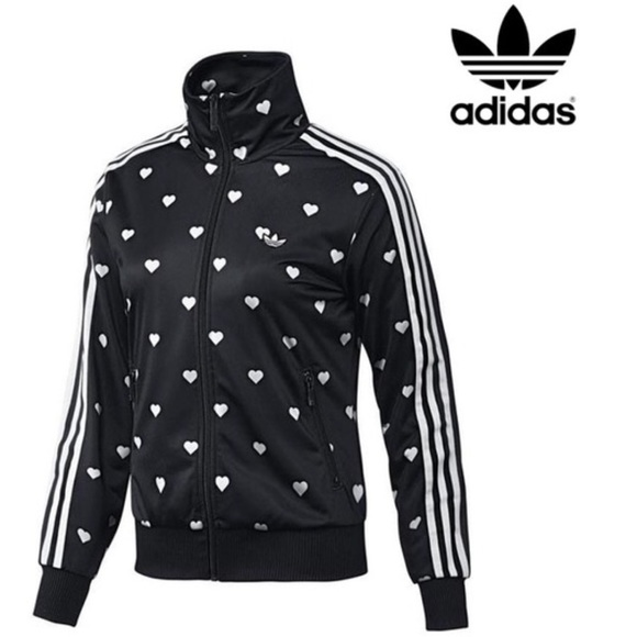 Details about Adidas Originals Trefoil Women's Hooded Zip Sweater Jacket Retro Blue White 36